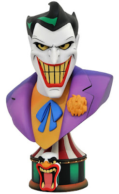 toy fair 2020 diamond select batman the animated series joker bust