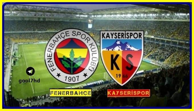 Fenerbahçe Kayserispor Maçı canlı izle / şifresiz yayın