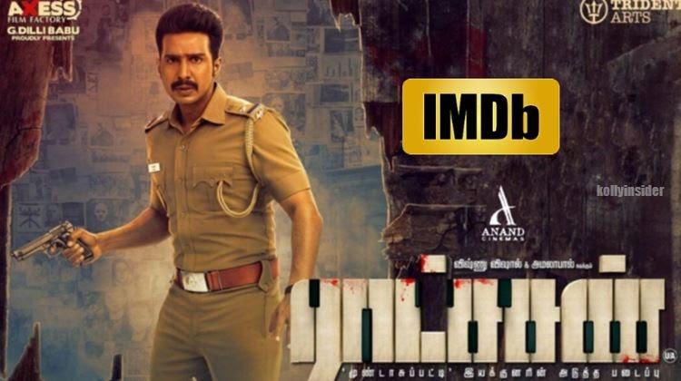 'Ratsasan' ranked No.1 Tamil movie and No.3 Indian movie of all time