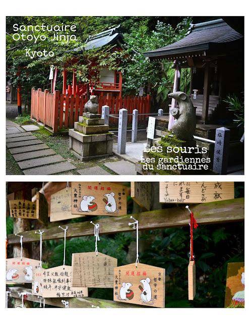 sanctuaire, souris,Otoyo Jinja,Japon,voyage, blog,blogue,anthracite-aime