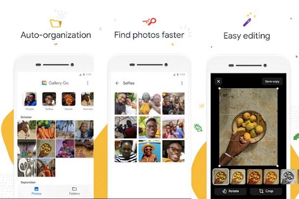 Google Luncurkan Gallery Go, Aplikasi Foto Versi Ringan Dari Google Photos