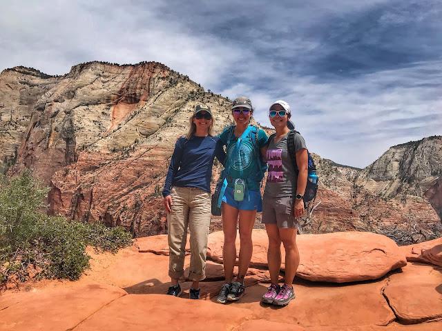Group shot - Angel's Landing hike