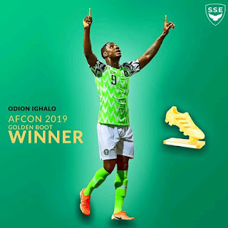 IGHALO EMERGES AFCON TOP SCORER