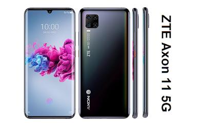 مواصفات ZTE Axon 11 5G مواصفات زد تي اي اكسون ZTE Axon 11 5G الإصدار : A2021  مواصفات زد تي إي ZTE Axon 11 5G - هاتف/جوال/تليفون زد تي إي ZTE Axon 11 5G