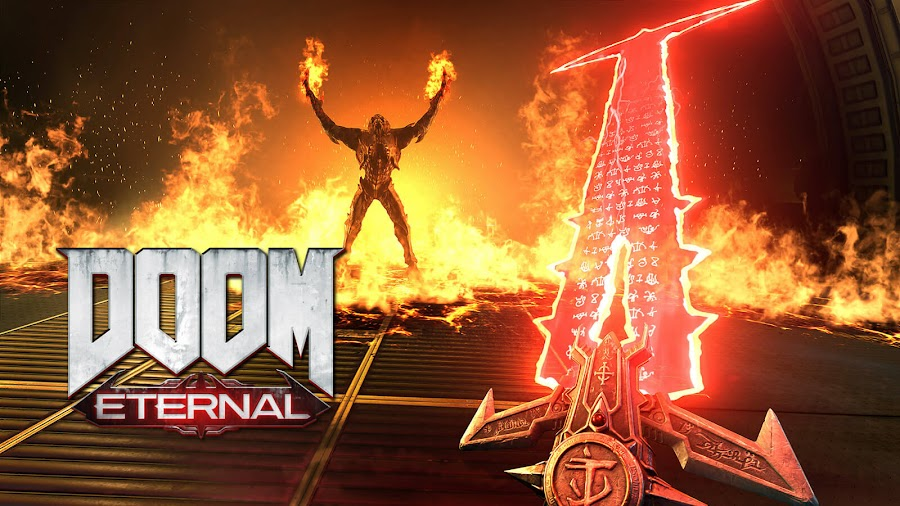 doom eternal second trailer fps id software bethesda softworks  google stadia nintendo switch pc ps4 xb1