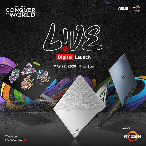 asus laptop announcement 2020