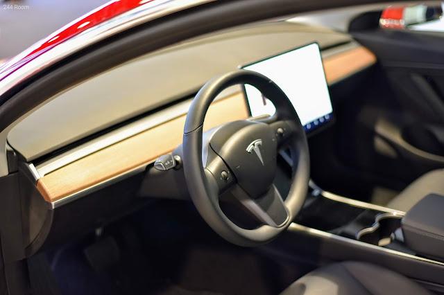 Tesla model 3 interior