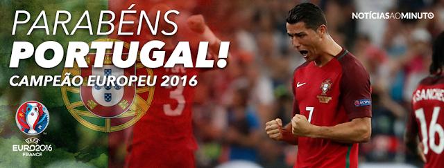 Portugal - Campeão da Europa 2016