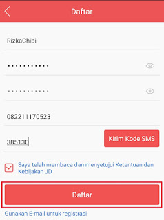 Registrasi JD.ID