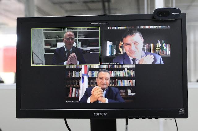 Rui Costa e russos celebram compra de 9,7 milhões de doses da Sputnik V
