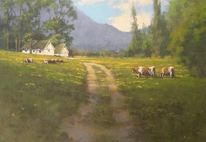 J.M. Brodrick - Spring Pasture