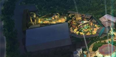 Super Nintendo World Universal's Epic Universe Concept Art