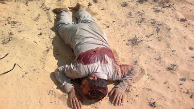 مقتل تكفيري أثناء زراعته عبوة ناسفة بالشيخ زويد