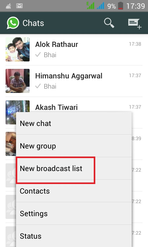 name whatsapp gruppe