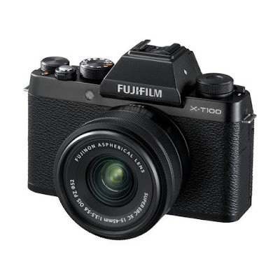 Fujifilm X-T100ミラーレスデジタルカメラファームウェアのダウンロード