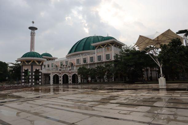 Gambar Masjid Taqwa kota Metro Lampung
