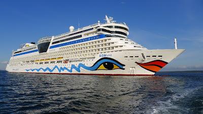 German Operator AIDA Cruises' AIDAluna Sails to New England Canada and Florida and the Bahamas