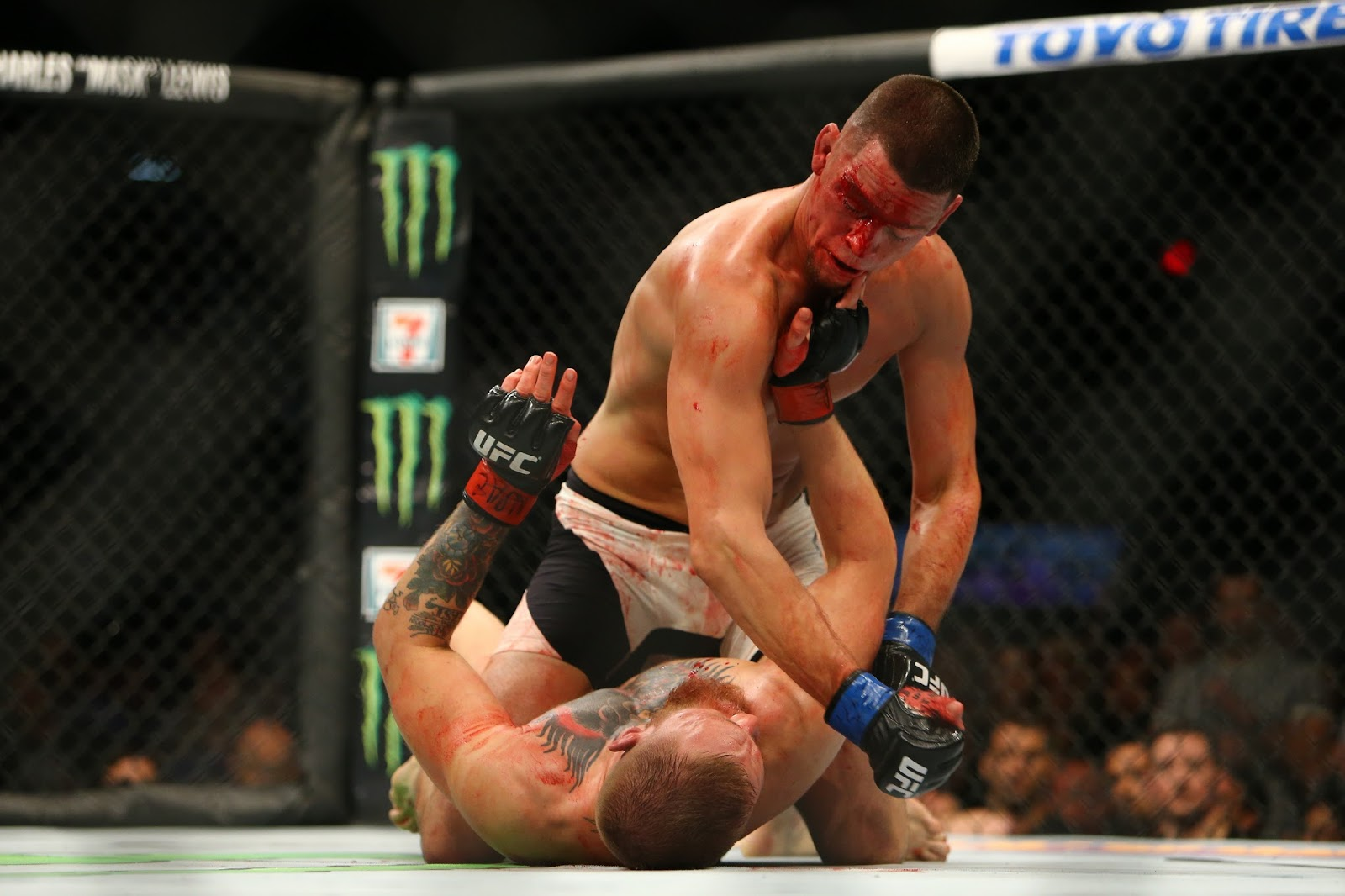 CONOR MCGREGOR VS. NATE DIAZ 5