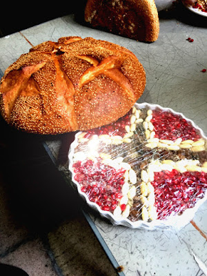 Golifa And Greek Church Bread