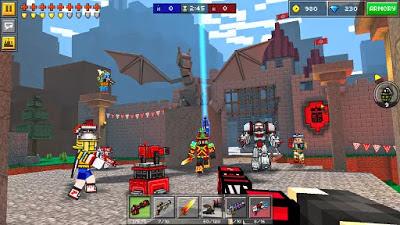 Pixel Gun 3D (Minecraft style) مهكرة