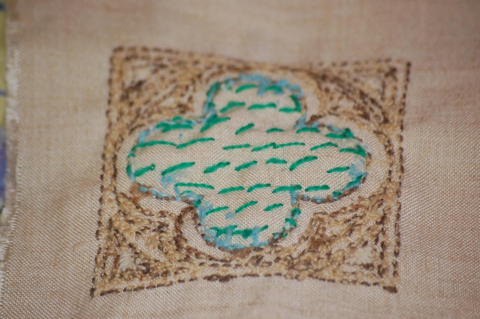 Cornish needlework basket le point de bayeux the