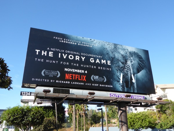 Ivory Game Netflix documentary billboard