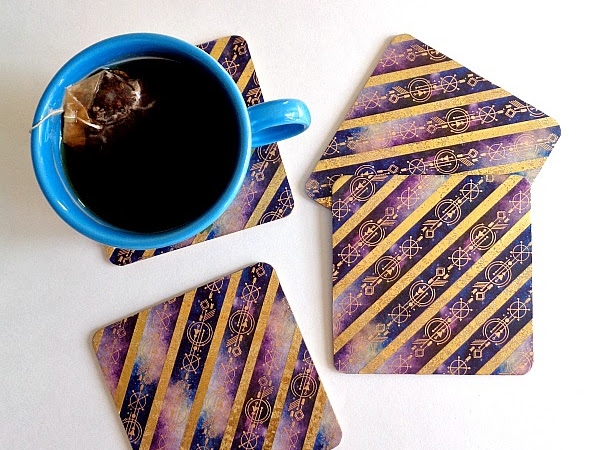 Paper House Productions: Washi Tape Coasters