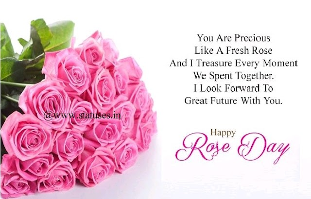 Happy Rose Day Quotes for GF/BF/Husband/Wife