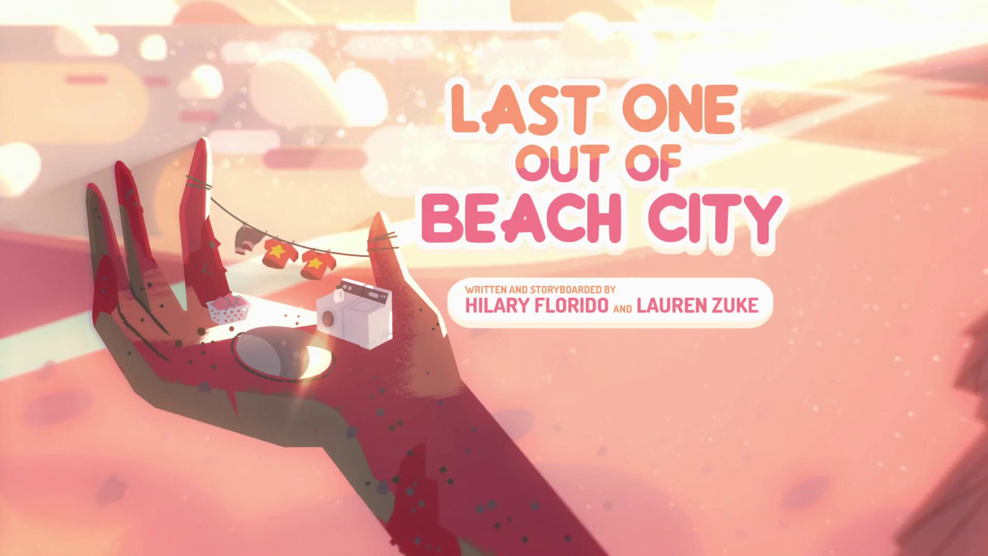 Steven Universo - Último a Sair de Beach City