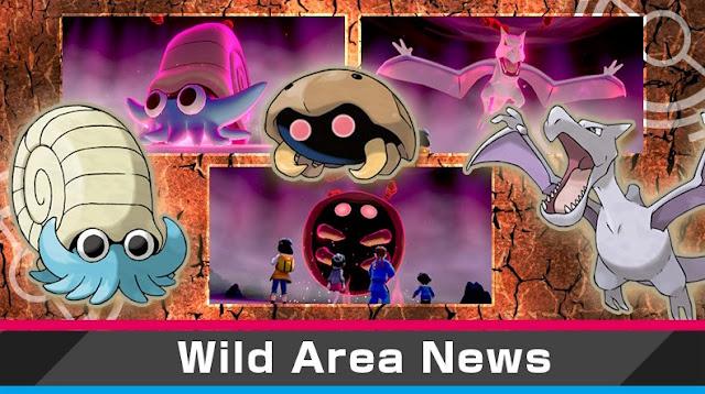 Pokémon Sword/Shield (Switch): novo evento nas Max Raid Battles traz Pokémon fósseis