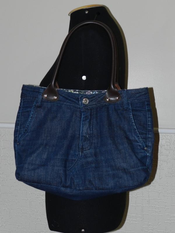 Luz Weber Reaproveitamento Bolsa De Calça Jeans