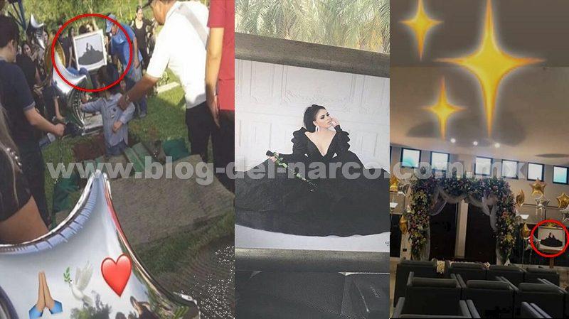 Fotografías así fue el velorio y el entierro de Claudia Ochoa Félix 'La Emperatriz de Los Ántrax' murió por broncoaspiración