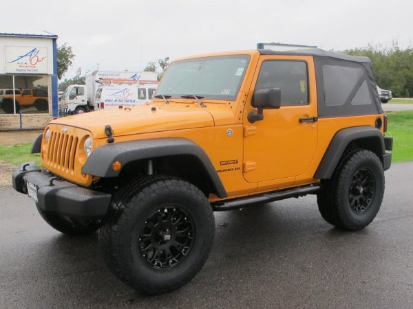 My Jeep Wrangler Jk 33 S On Jeep Jk With Lift And Without