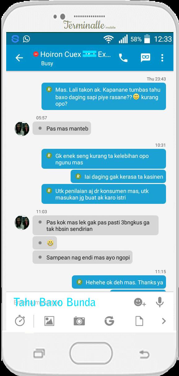 Oleh Hoiron - Surabaya @TahuBaxoBunda