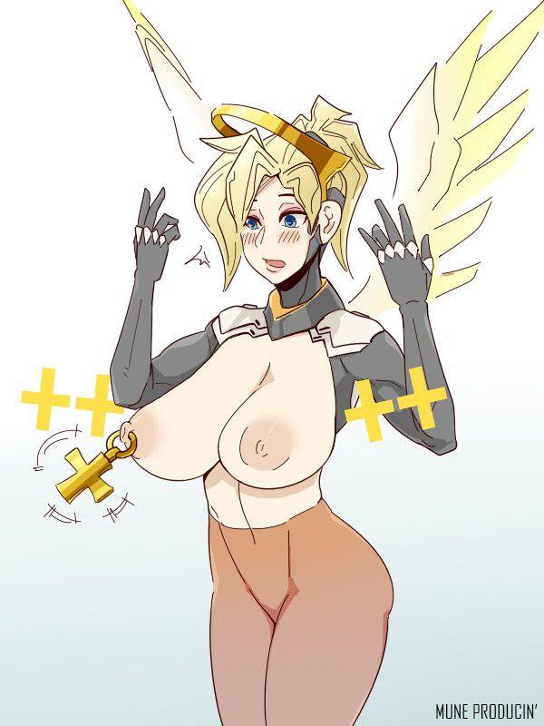 gambar hentai karakter game overwatch,mercy.overwatch porn,nsfw art,animasi porno toket gede,pamer memek