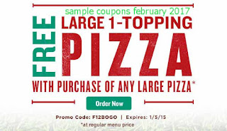 free Papa Joes Pizza coupons for february 2017