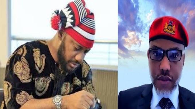 """Nnamdi Kanu Is A Hero"" - Yul Edochie Extols IPOB Leader"