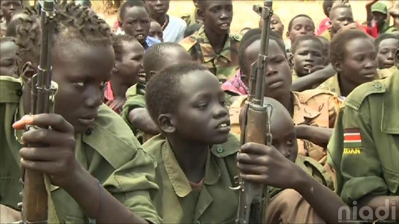 south sudan child soldiers