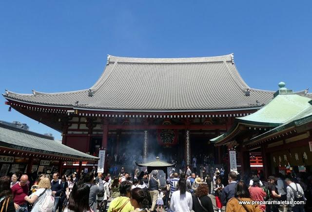 qué ver en el templo sensoji