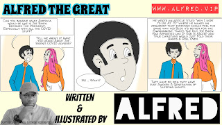 Alfred The Great - Comic Strip - 10th November 2020