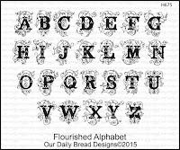 ODBD Flourished Alphabet