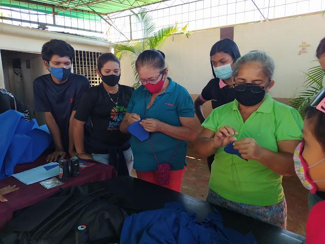 Mascarillas de Tela Artesanales en Maracaibo