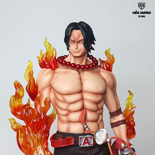Mô hình Anime Figure OnePiece ACE Hỏa Quyền Có LED