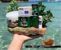 Logo Iris Natura: vinci gratis un kit composto da 5 prodotti della linea ''Bava di Lumaca'' (valore 80€)