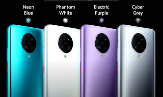 Poco F2 Pro all Colors image