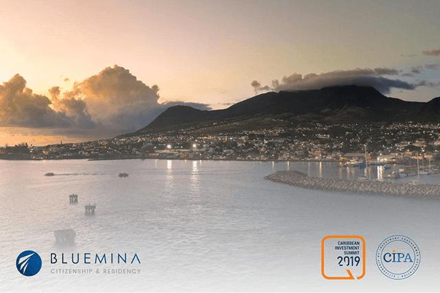 شركة بلومينا الراعي الماسي لقمة منطقة البحر الكاريبي للإستثمار في سانت كيتس ونيفيس