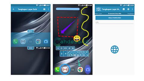 Cara Screenshot HP Asus dengan Aplikasi Tambahan