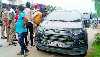 Unclaimed car of Lucknow's number found in Auraiya