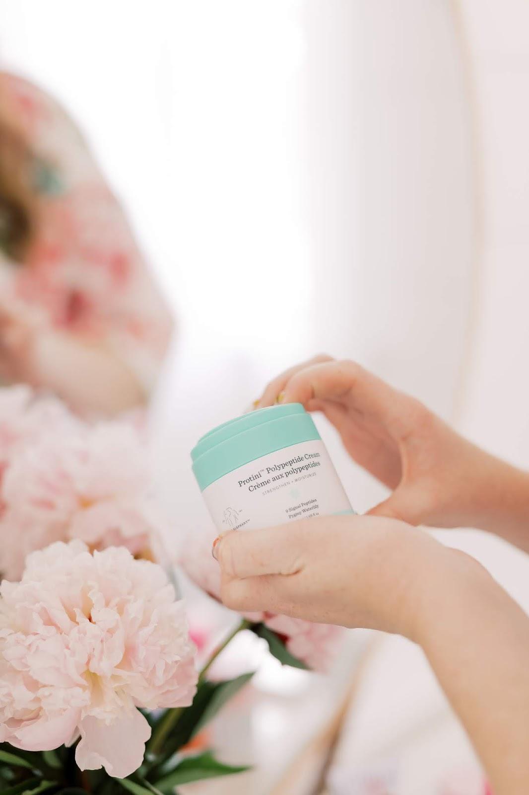 Drunk Elephant Protini Polypeptide Cream - Affordable by Amanda - Nighttime Skincare Routine Moisturizer