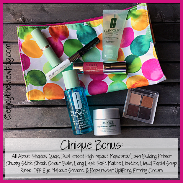 8 pc. Clinique Gift with Purchase